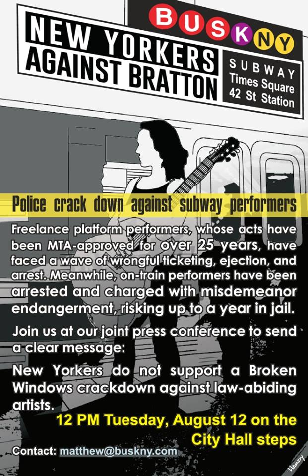 SubwayPerformersFlyer